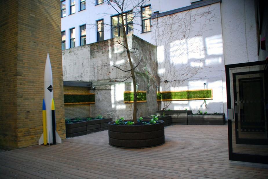 mchy - łatwa zielona ściana