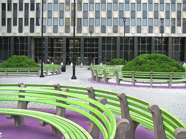 Convention Center Plaza Martha Schwartz współcześni architekci krajobrazu