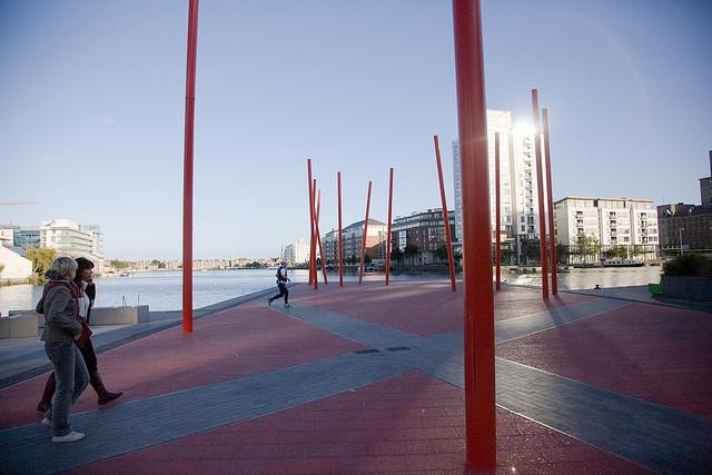 Grand Canal Square - Martha Schwartz (2007) współcześni architekci krajobrazu 2