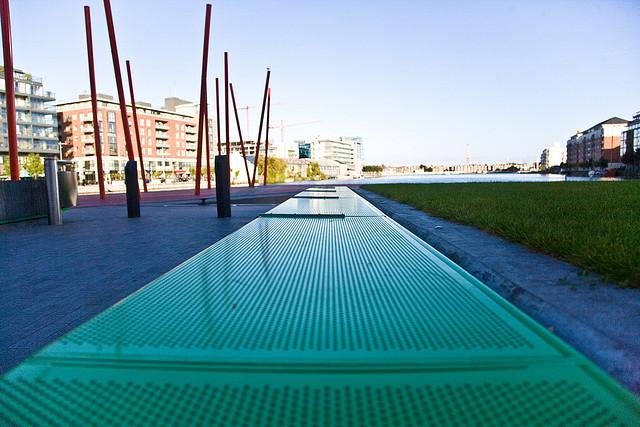 Grand Canal Square - Martha Schwartz (2007) współcześnie architekci krajobrazu 3