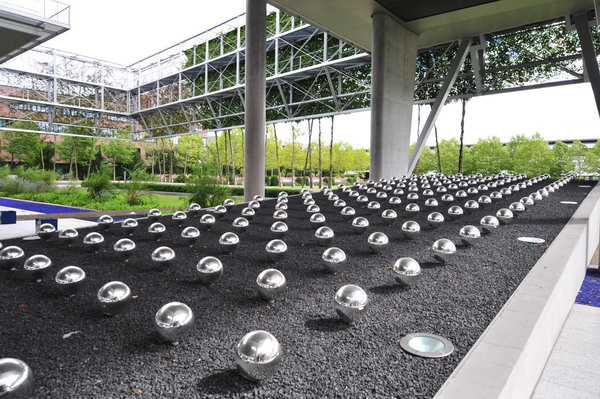 Martha Swartz _ Swiss Re Headquarters Munich _ współcześni architekci krajobrazu 2