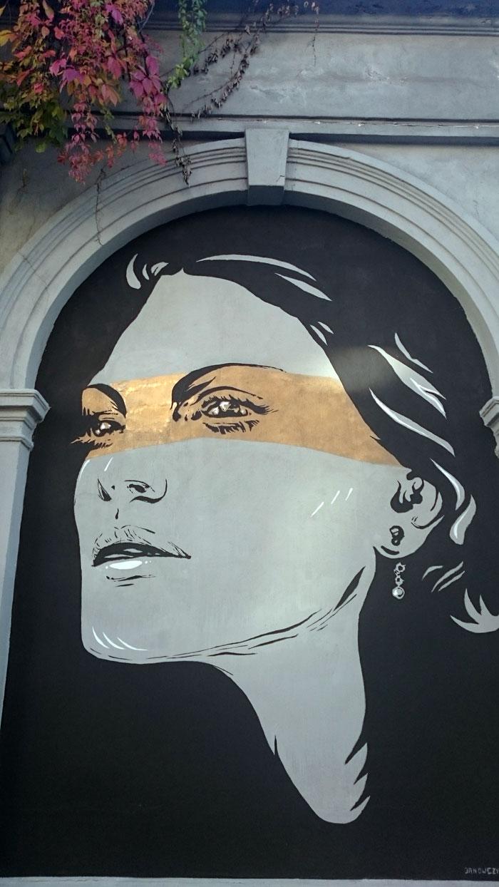 Graffiti-na-Kazimierzu-14 Kazimierskie Murale Historyczne