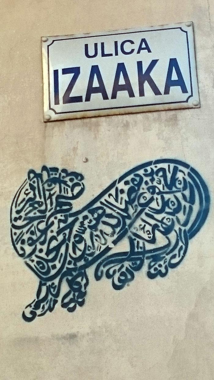 Graffiti-na-Kazimierzu-16_ul. Izaaka