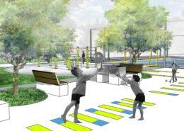 Projekt zieleni przy szkole