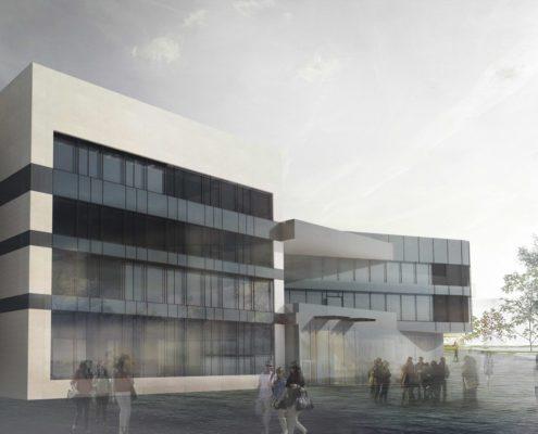 Projekt budynku matematyki i fizyki stosowanej w Rzeszowie