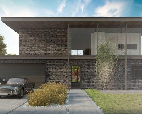 projekt domu w Tychach