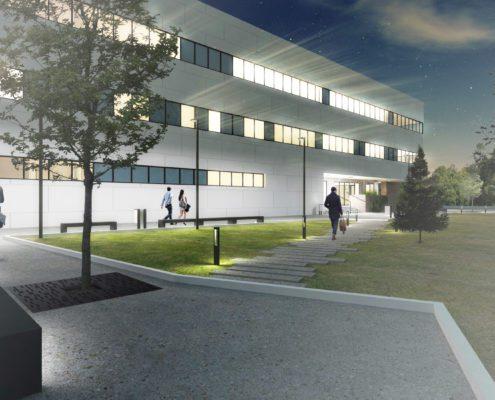 Collegium Medicum projekt budynku w Krakowie