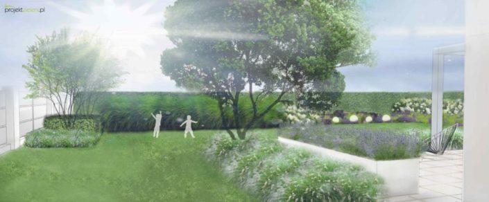 ogród pod Krakowem